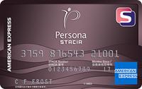 ペルソナSTACIA アメリカン・エキスプレス・カード券面